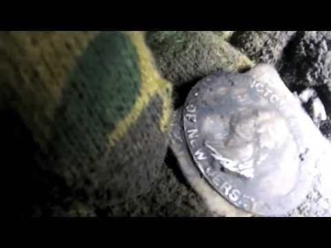 #14 2013 Metal Detecting Video, Found NJ 1887 TIFFANY G. Washington Silver Jewelry Medallion - http://mysilverjewelry.org/bracelets/14-2013-metal-detecting-video-found-nj-1887-tiffany-g-washington-silver-jewelry-medallion/