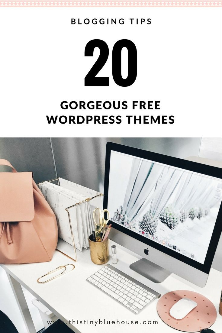 20 stunning, free and feminine wordpress themes