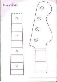 Image result for guitar template