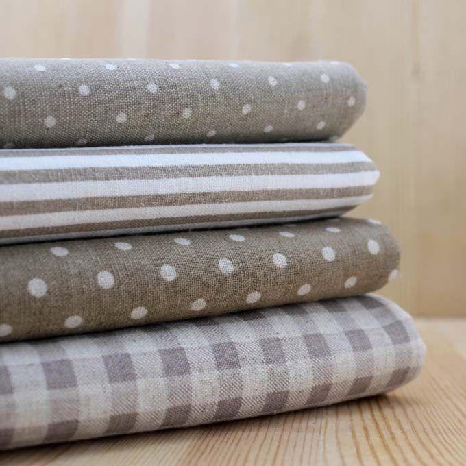 Milk Tea Multi Geometric Pattern Hemp gray Quilting Cotton linen fabric bundle DIY home textile Cloth art for patchwork 22*24cm-in Fabric from Home & Garden on Aliexpress.com | Alibaba Group