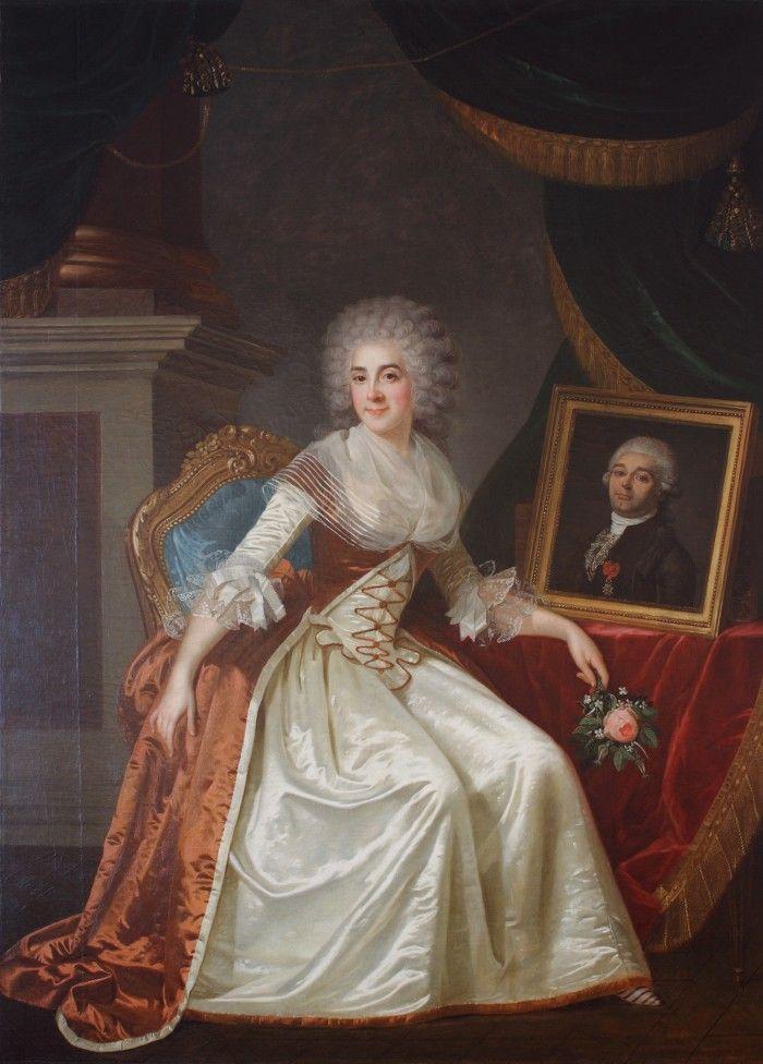 Portrait of Madame de Serres, Joseph Boze, 1787.
