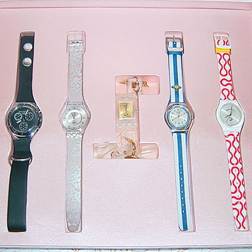 Vivienne Westwood Swatch Flying Time Set New Mint Condition Number 150 of 500