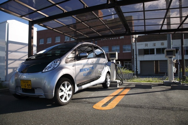 i-MiEV, ELECTRIC VEHICLE on GOTO...