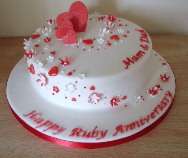 Wedding Anniversary Cake Pictures