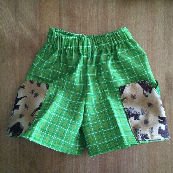 Custom order Childrens shorts size 12 months to by ReenieAndBella