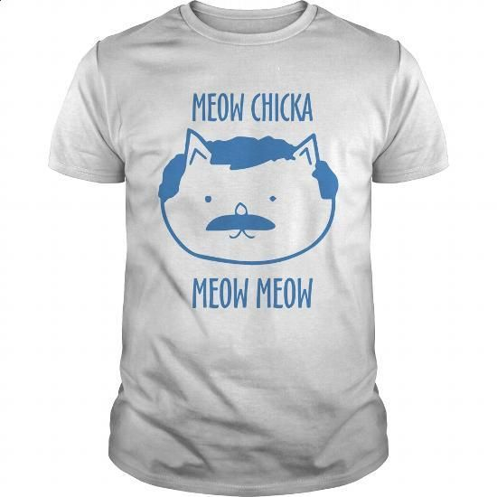 Meow chicka meow meow - #polo t shirts #tshirt designs. PURCHASE NOW => https://www.sunfrog.com/LifeStyle/Meow-chicka-meow-meow-White-Guys.html?60505