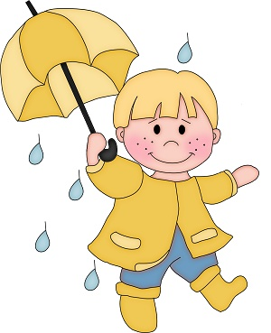 Here You Can See The Boy In Rain With Umbrella Clipart Collection Use These For Your Documents Web Sites