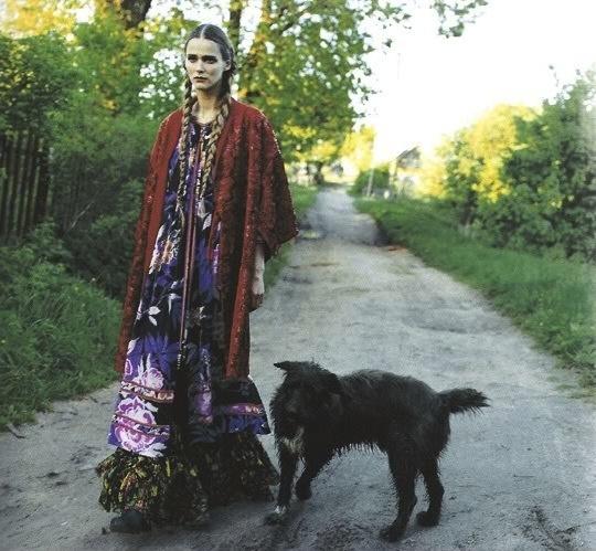 russian folk, texture: Bohogypsi Styles, Russian Styles, Bohemian Chic, Carmen Dell'Orefic, Russian Folk, Bohemian Dream, Bohemian Soul, Vogue Japan, Lena Yemchuk