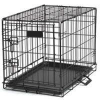 Single Door Wire Dog Crate   Free Shipping - Pet360 Pet Parenting Simplified