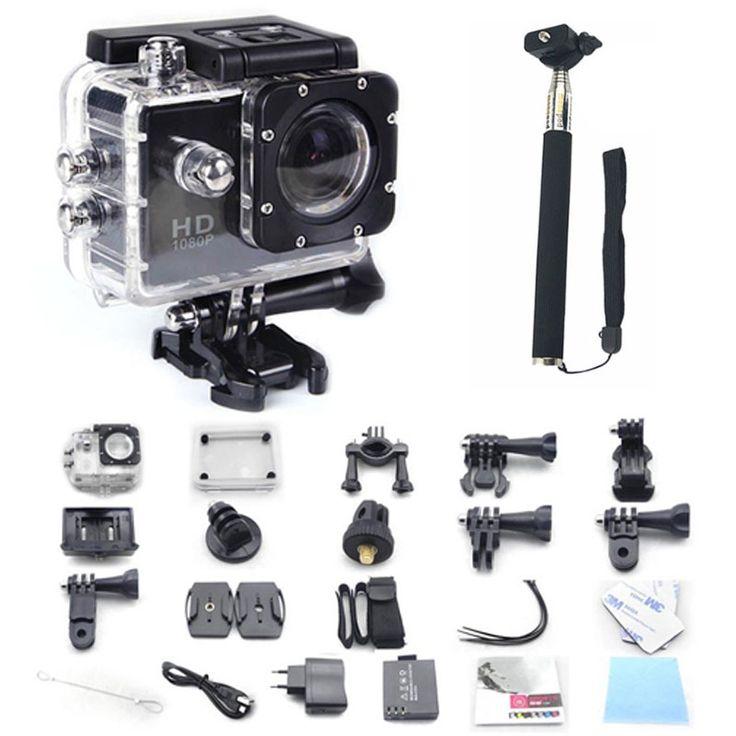 GoPro hero 3 style SJ4000 go pro camera 30M Waterproof 1080P Full HD DVR Sport action digital Camera