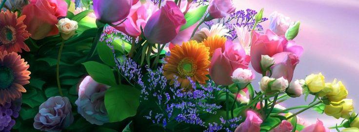 Kagaya Flowers Timeline Cover - Facebook timeline covers maker