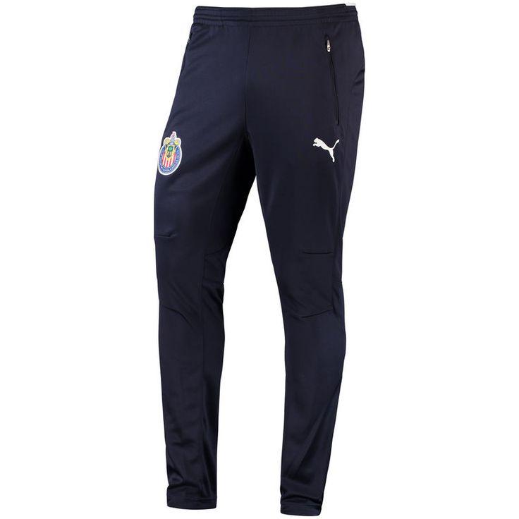 Chivas Puma 2017/18 Training Pants - Navy