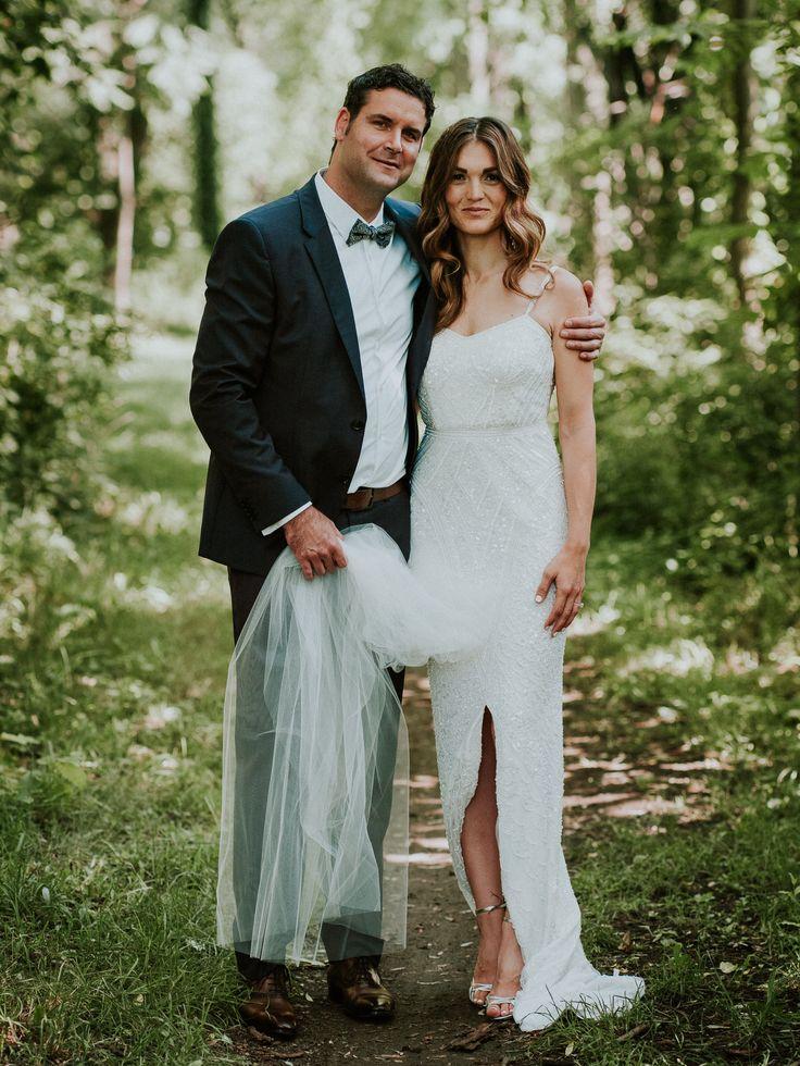 Stratus Vineyard wedding, Theia wedding gown, photography by Joel + Justyna Bedford