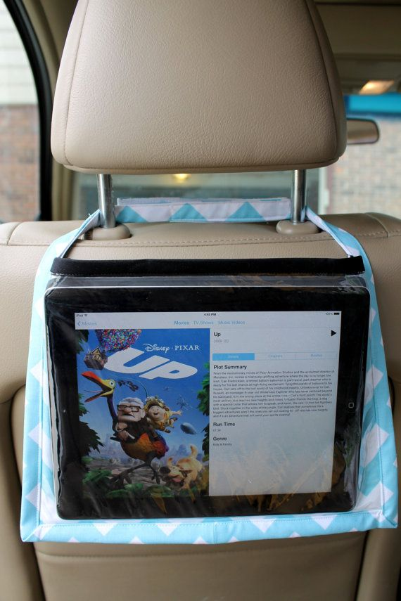 iPad Car Travel Companion by SusanStangeDesign on Etsy