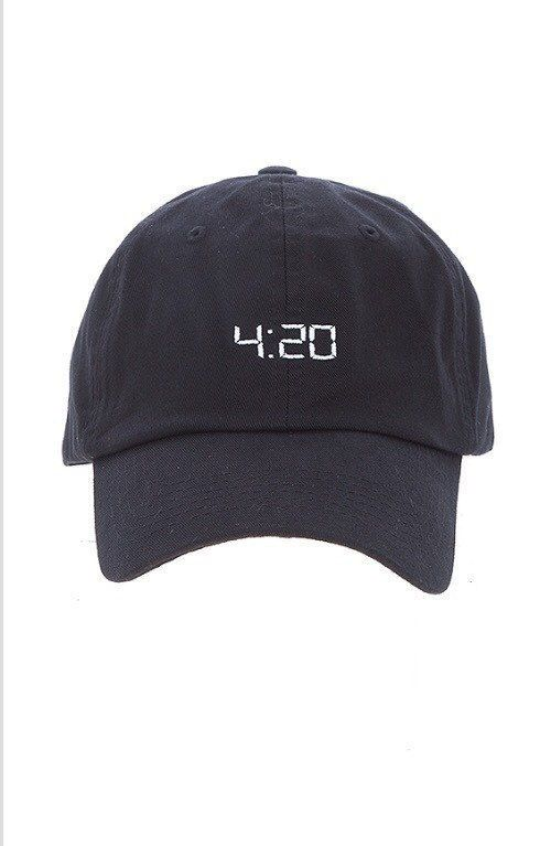 420 Fashion CUSTOM UNSTRUCTURED BLACK DAD CAP HAT NEW  | eBay
