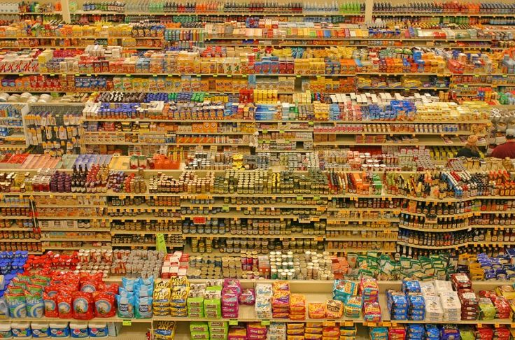 junk food grocery aisle - Google Search