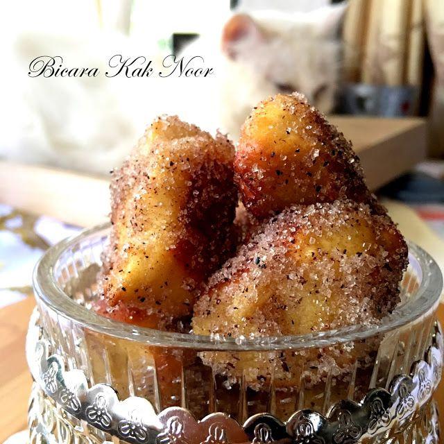 Auntie Anne's Copycat Cinnamon Sugar Pretzel Bites | Bicara Kak Noor