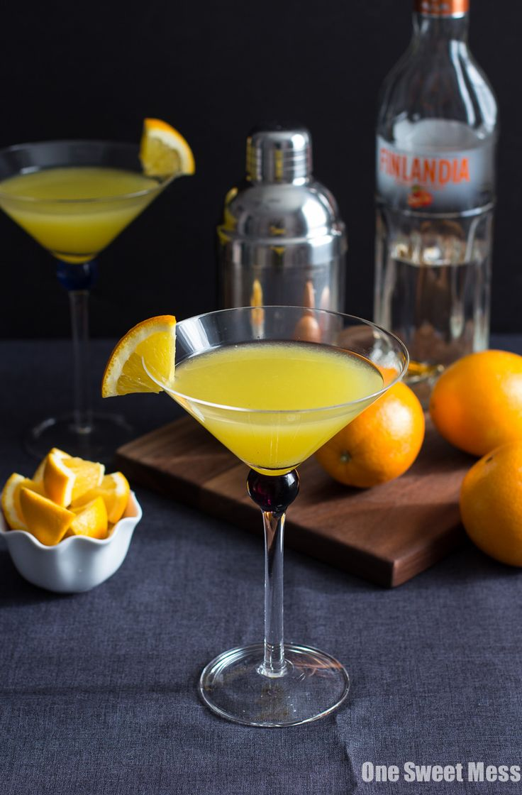 Vanilla Tangerine Martini: This cocktail combines vanilla simple syrup and fresh tangerine juice to create a delicious martini.