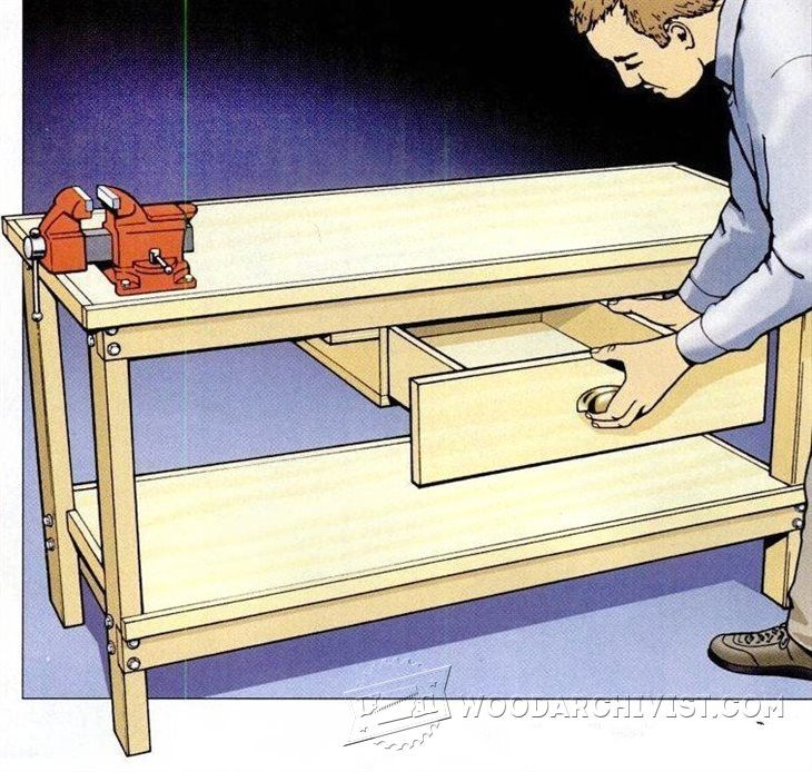 17 Best images about Workbench Folding Table on