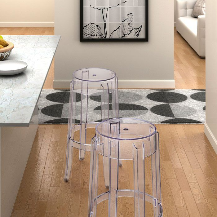 Anime Stackable Transparent Bar Stool at www.dcgstores.com - Sales $170.00