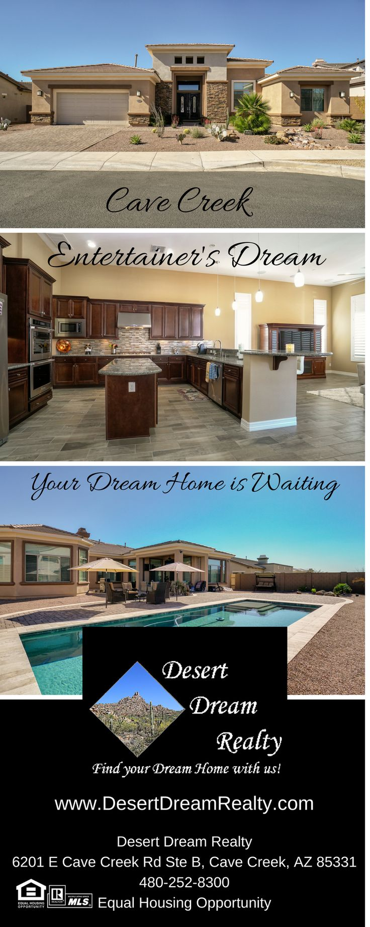 5438 E LAS PIEDRAS Way, Cave Creek, AZ 85331 - Desert Dream Realty - http://www.desertdreamrealty.com/listings/details/5438-e-las-piedras-way-cave-creek-az/5729367/443228/