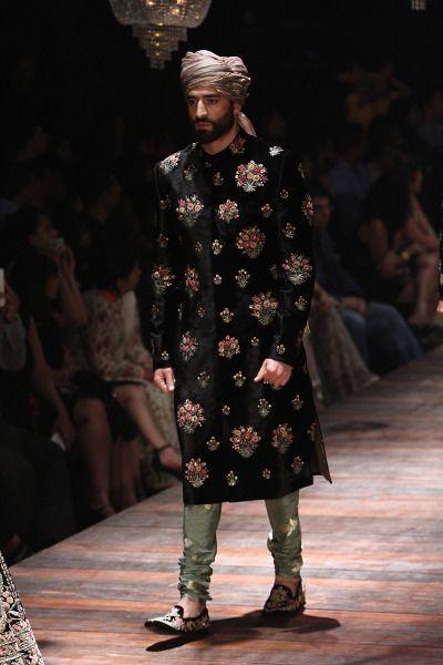 men+fashion SABYASACHI Winter/Festive 2016 collection LAKMÉ FASHION WEEK