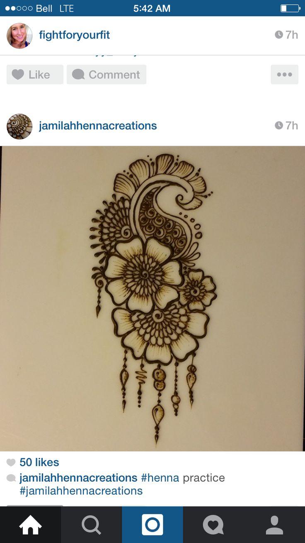 50 intricate henna tattoo designs art and design 50 - Henna Designs