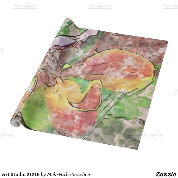 Art Studio 21216 Wrapping Paper