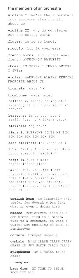 I wish this post would mind the language but...it is funny Violins right on point