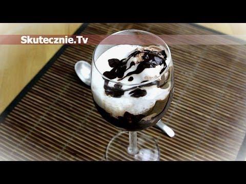 Czekoladowy deser lodowy z lekką waniliową pianką :: Skutecznie.Tv [HD]