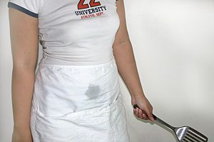 How to Get a Cooking Oil Stain out of Clothing