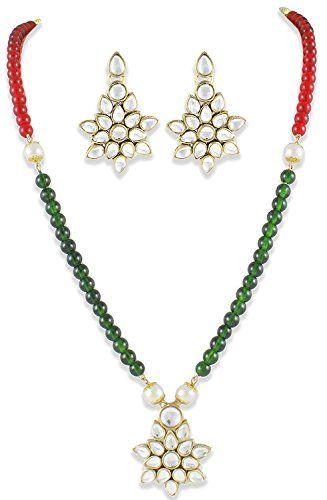 Green & Red Pearls Indian Bollywood Style Gold Plated Kun... https://www.amazon.com/dp/B06Y2FQW49/ref=cm_sw_r_pi_dp_x_VjCczbEPANDX2