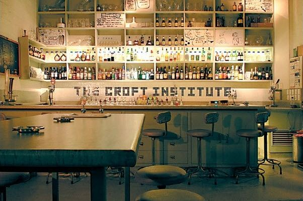 The Croft Institute. Whilst some think the surroundings are creepy others appreciate the weird place that gives you shots in test tubes and unusual bathroom facilities.