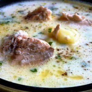 Лёгкий, тёплый, нежный суп в холодные осенние дни