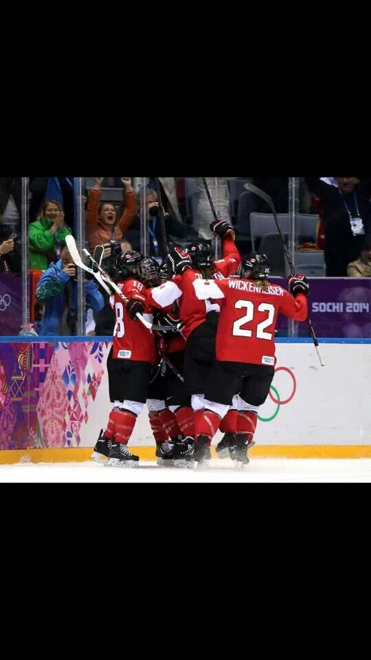 Marie-philip poulin golden goal ! Canada women hockey