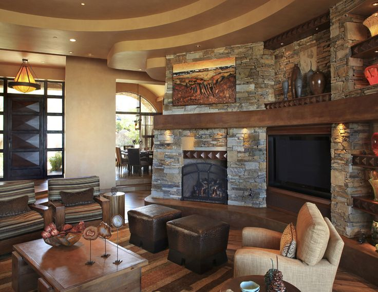 Traditional Family Room By Bess Jones Interiors