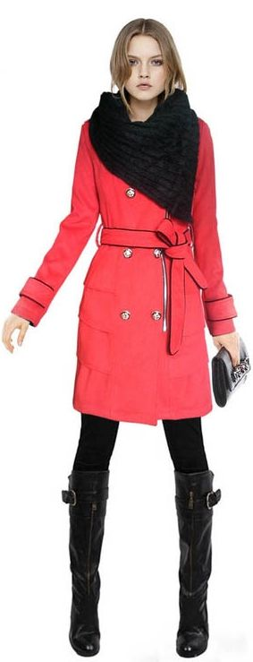 red Trench coats for Formal Occasions