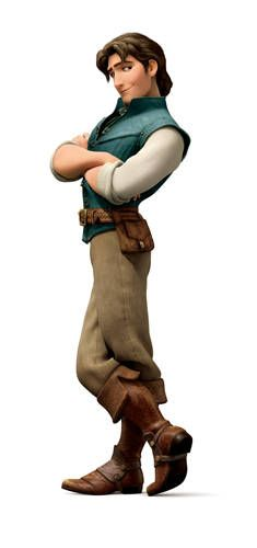 """Disney Pricne that most resembles my husband--tee hee.  Eugene Fitzherbert/Flynn Rider from """"Tangled"""", 2010"""