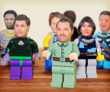 Convert friends and family into LEGO form using this personalized 3D printing service. Simply submit two photos of the recipient - and their likeness will be eerily recreated onto a 15mm head using sophisticated full-color 3D printers.