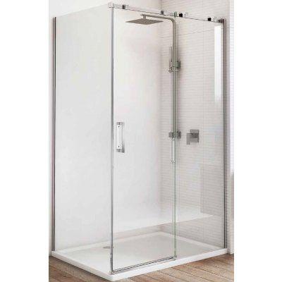 Prosta kabina prysznicowa Missouri pasuje do industrialnej łazienki