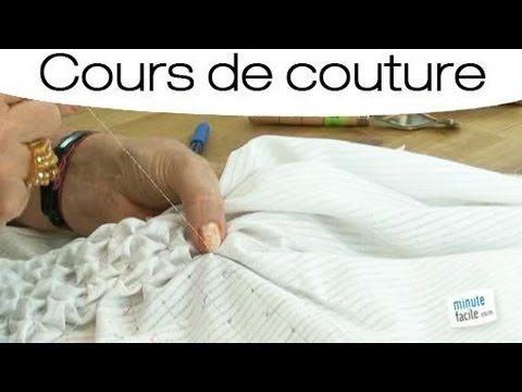 ▶ Comment faire des smocks en couture? - YouTube                                                                                                                                                                                 Plus