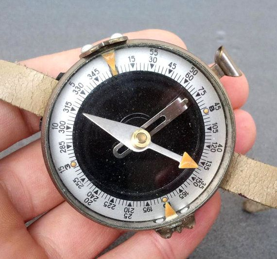 Vintage Russian Soviet Wrist Military Tourist Metal by BerryPlace