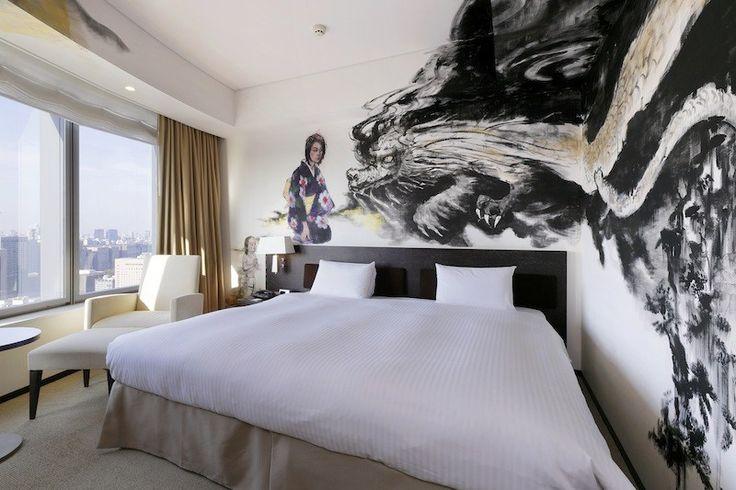 Artist room at Park Hotel Tokyo