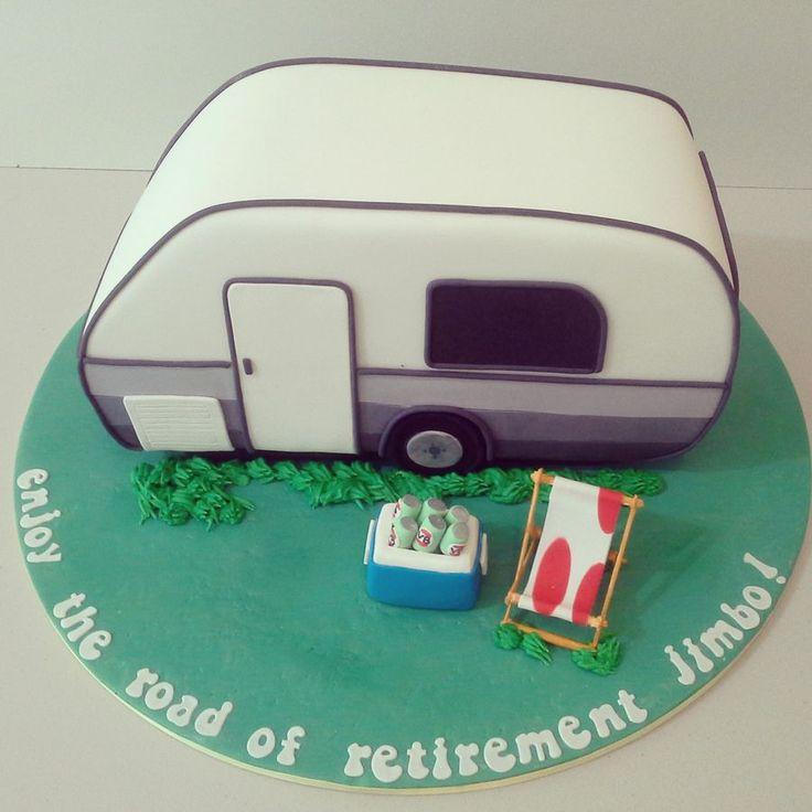 A retirement caravan cake :)