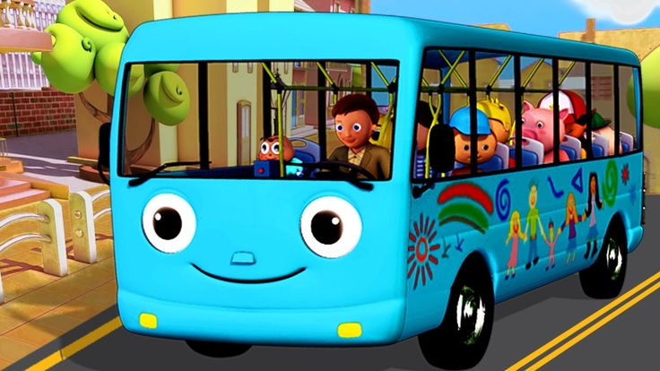 Wheels On The Bus | Part 4 | Nursery Rhymes | HD Version from LittleBabyBum