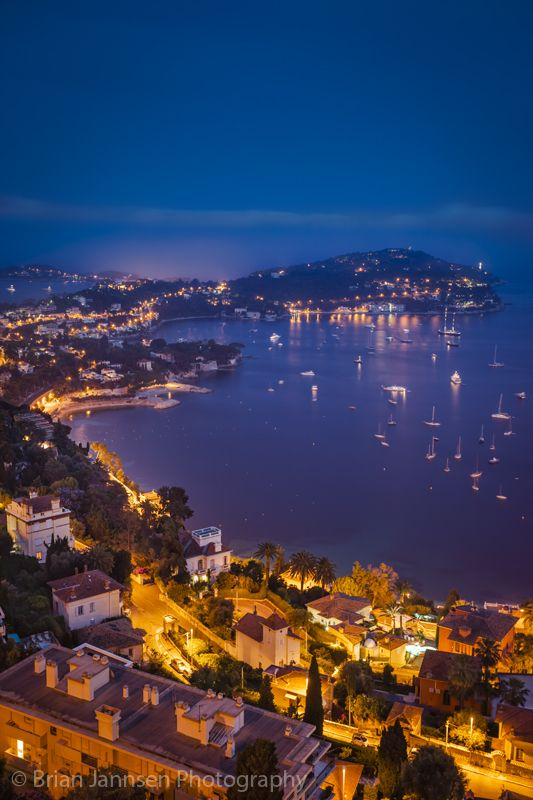 Villefranche-Sur-Mer, along the Cotes d'Azur, Provence France. © Brian Jannsen Photography