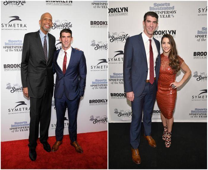 "Michael Phelps' height - 6' 4"" (193 cm)"