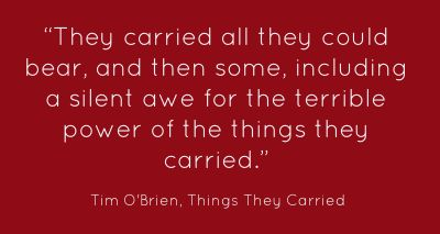 A review of the novel the things they carried by tim obrien