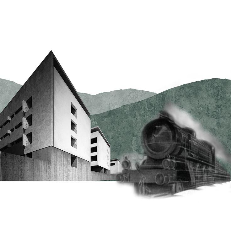 LUNGO UN FIL DI FUMO_ Riqualificazione dell' area ferroviaria di Pontassieve. Emanuele Starita e Leonardo Ulivi