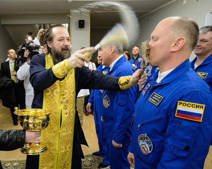Why Russian Astronauts Pee on a Bus Tire Before Launching Into Space, and Other Pre-Flight Rituals | Atlas Obscura